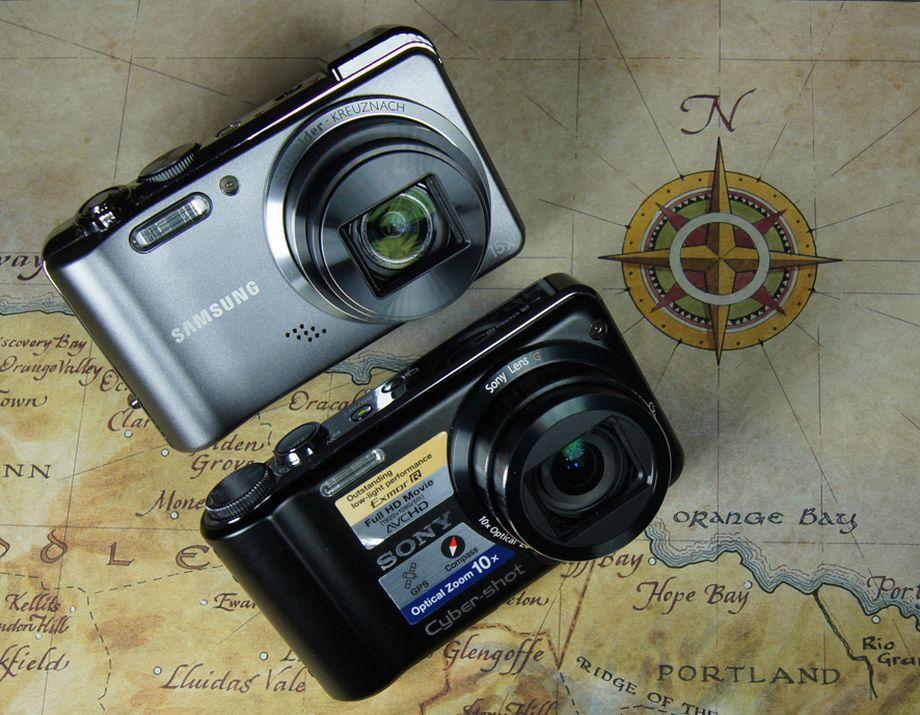 GPS Kompaktkameras