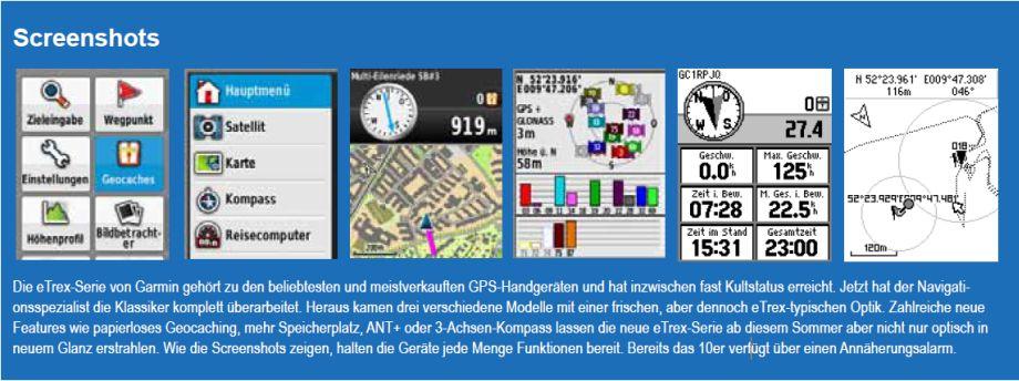 Garmin eTrex - Bild 3